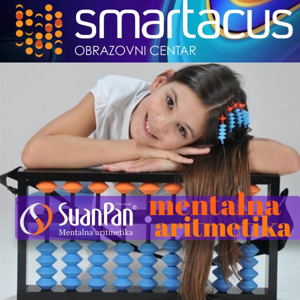 Kurs mentalne aritmetike u Smartacus obrazovnom centru